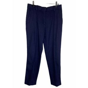Everlane Wool Cashmere Ankle Pants Navy Blue